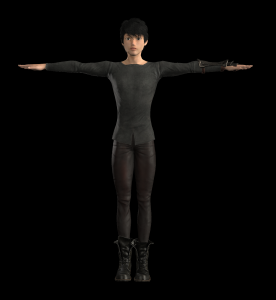 AOW Awakening Char Vyur in T Pose